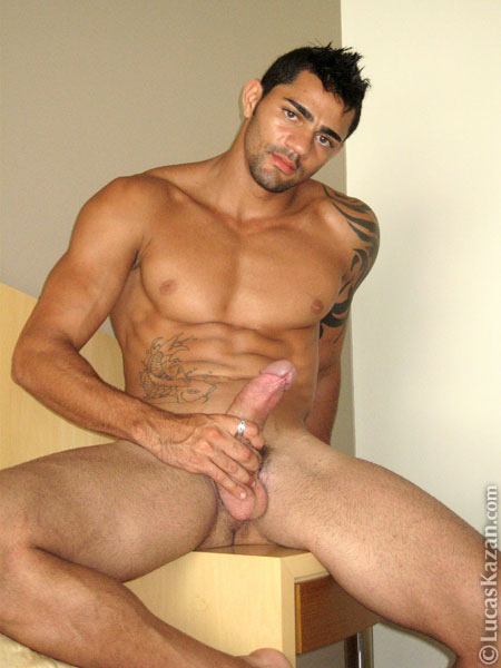 Hot naked latin guy